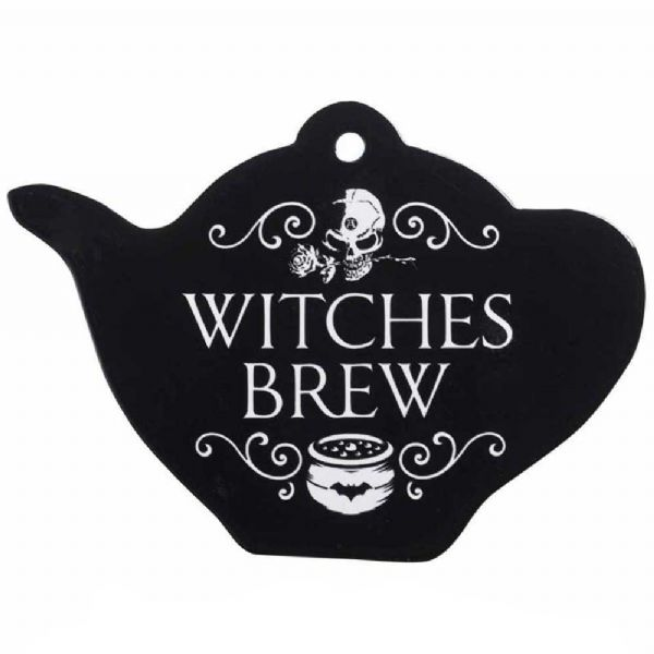 Alchemy Gothic Witches Brew Ceramic Trivet
